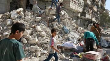 Quatro menores morrem por disparos de Exército sírio em Aleppo